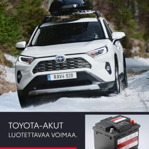 Hyytyikö akku pakkasessa? ❄️  Meiltä aidot Toyota-akut. Huoltovapaaksi suunniteltu ja kilpailukykyisesti hinnoiteltu akku on eri...