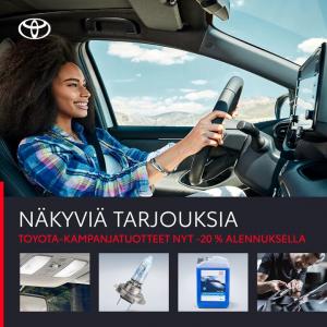 Syksy tulee ja näkyvyys heikkenee. Hoida siis autosi kuntoon, että ajat turvallisesti myös huonommilla keleillä! Kampanjatarjouk...
