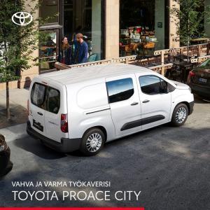 Proace City on kompakti ja ketterä kumppani raskaan sarjan ominaisuuksilla. Tarjoamme nyt Proace City Automatic Editionin manuaa...