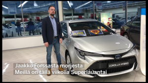 Superlauantai Corolla