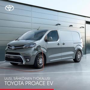 Uusi, täyssähköinen Proace EV tarjoaa tilaa, muunneltavuutta, nopean 100 kW:n latauksen ja jopa 313 km:n sähköisen toimintasätee...