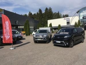 Tänään tavara-automallistoamme on esillä Turun RTV:n pihalla osoitteessa Satakunnantie 162. Poikkea brunssille ja tutustumaan esimerkiksi Proace Verso Premium -bussiin ja Hilux Arctic Trucks -malliin!